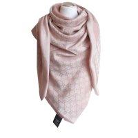 Gucci Scarf Scarves Silk,Wool Pink ref.30795 - Joli Closet