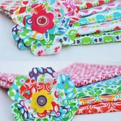 DIY | Blumenbrosche/Schlüsselanhänger aus Stoff