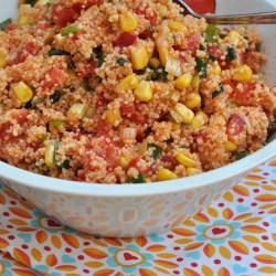 Grillsaison 2014 | Auftakt mit Couscous Salat