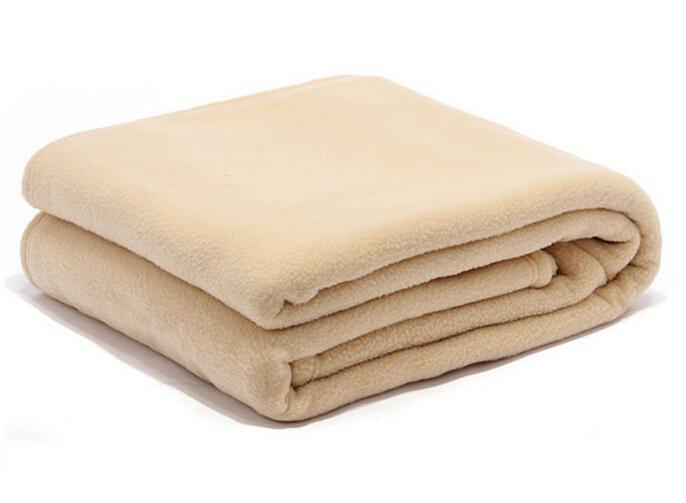 100 Polyester 350gsm Airline Polar Fleece Blanket In