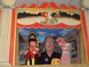 Len with Punch and JUDY