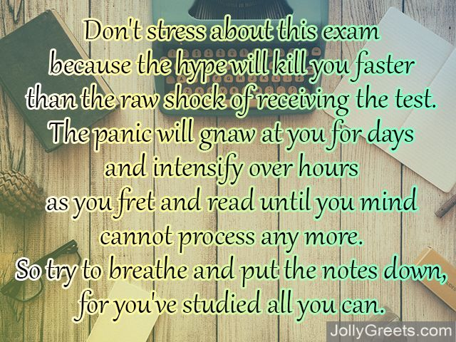 Good Luck Poems for Exams Best Wishes for Exams