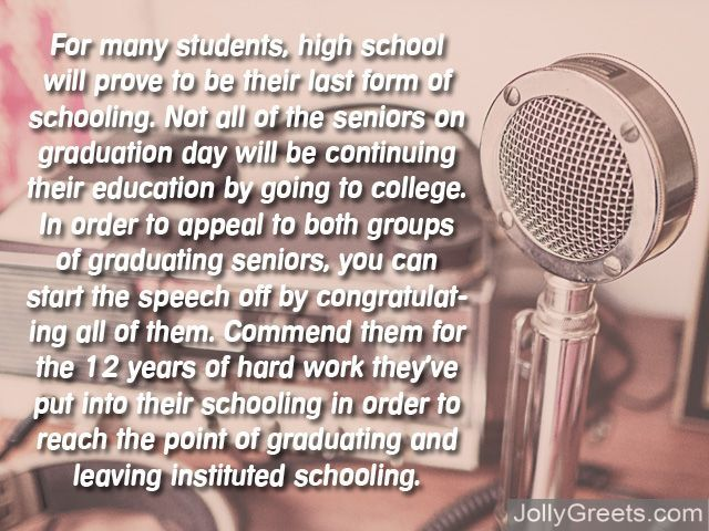 How to Write a Graduation Speech \u2013 Examples, Ideas, Quotes