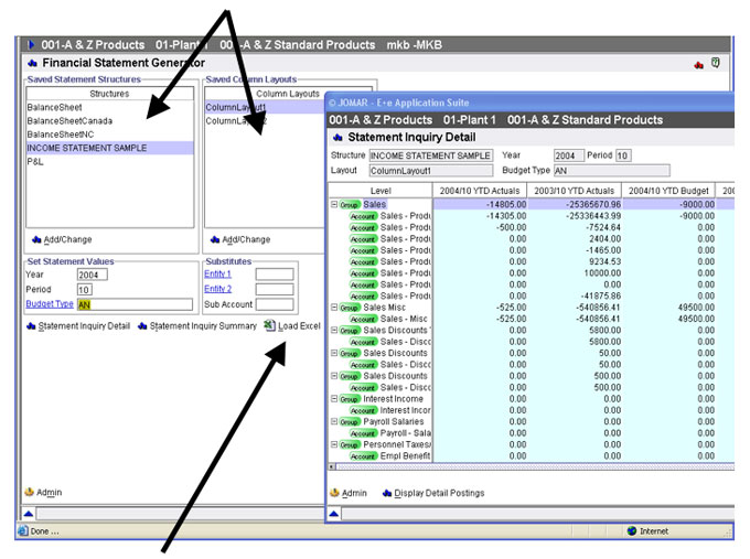 JOMAR Softcorp - Products - Financial Software Applications