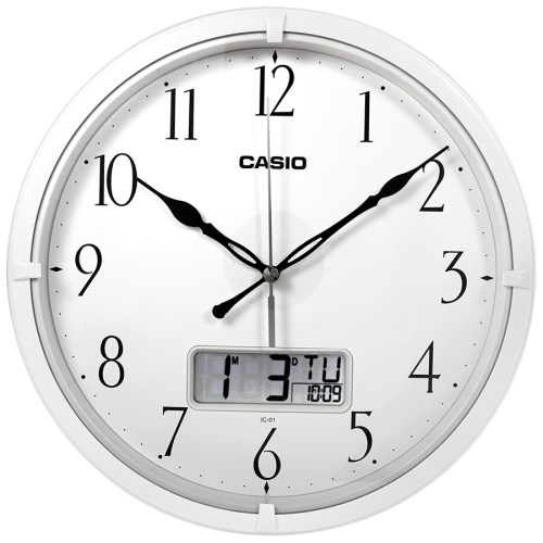 Medium Of Analog Digital Wall Clock