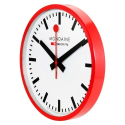 Small Crop Of Large Red Wall Clocks