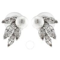 Swarovski Louison Pearl Earrings - Swarovski - Ladies ...