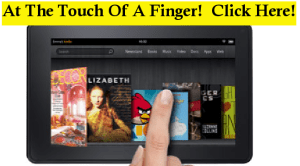 Kindle Fire Finger Control