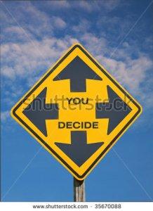 you decide sign