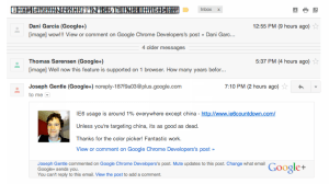 Google Chrome Mac Font Problem in Gmail