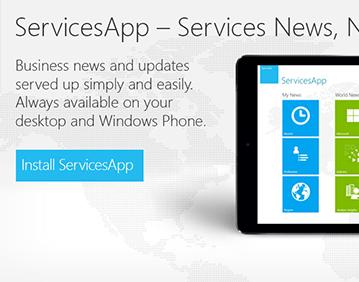 ServicesApp Banner Ad