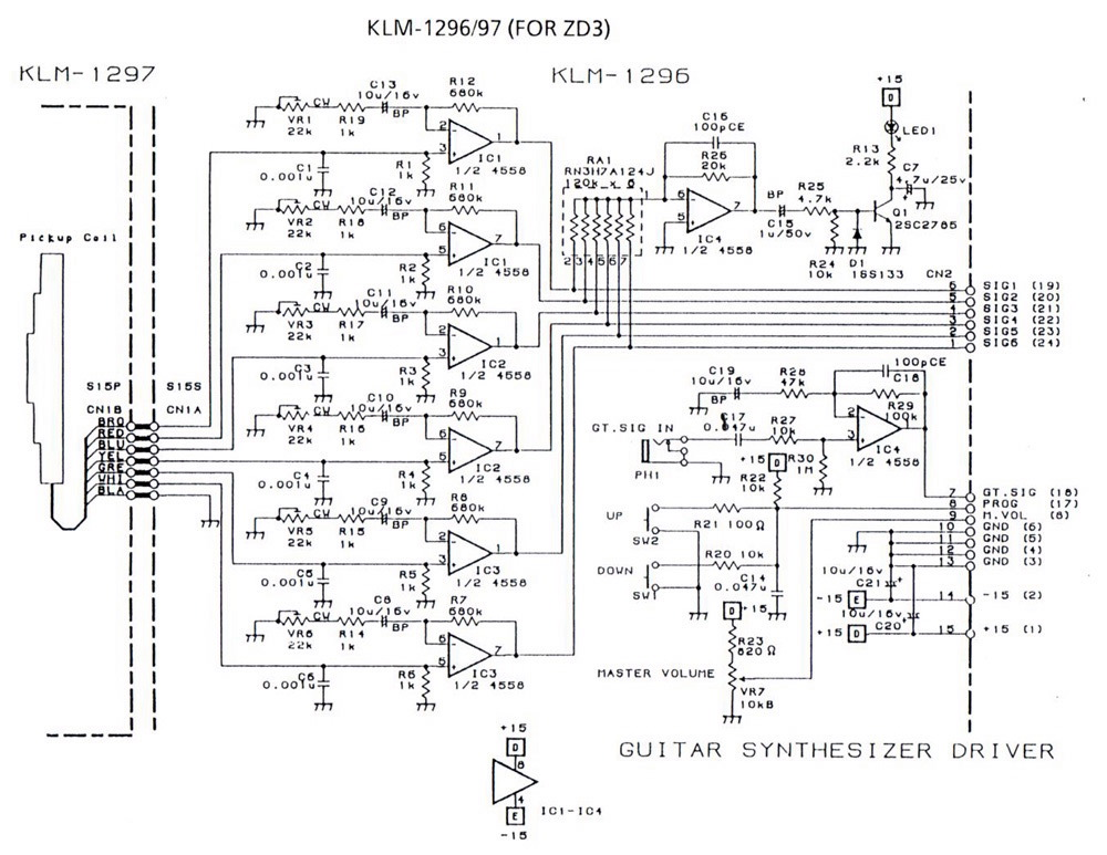 vox guitar wiring diagram