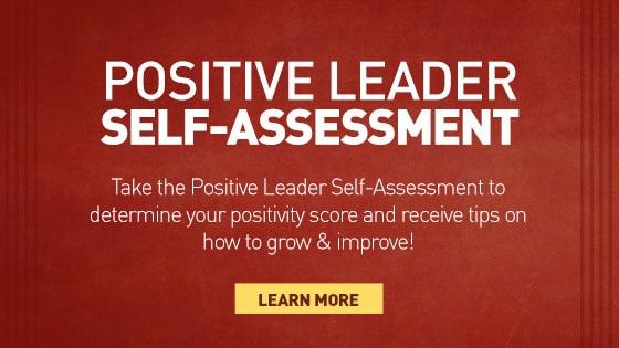 Your Positivity Score - leadership self assessment