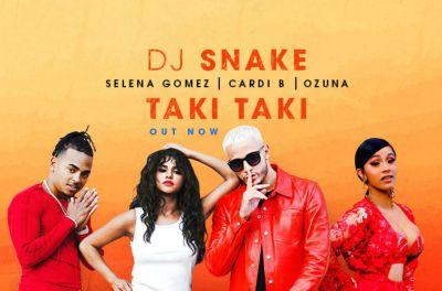 Dj Snake - Taki Taki (feat. Selena Gomez, Ozuna & Cardi B) - Jonica Radio