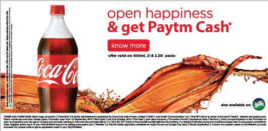 paytm coke offer