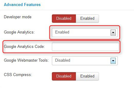 How to add a tracking code for web analytics? - Joomla-Monster - how to template