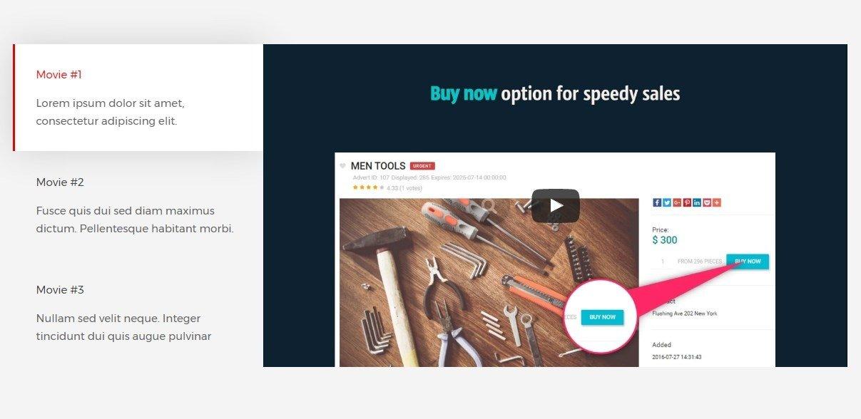 Product Presentation On Sales Website - Joomla-Monster