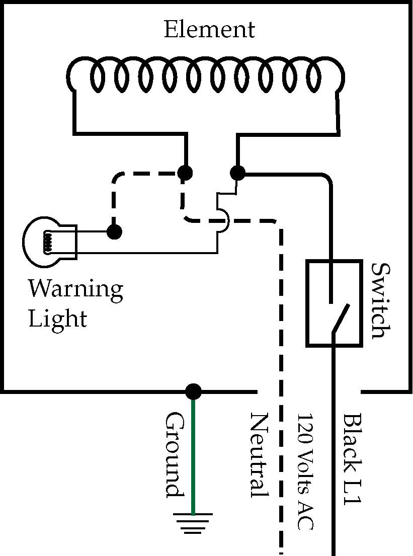 simmerstat circuit diagram