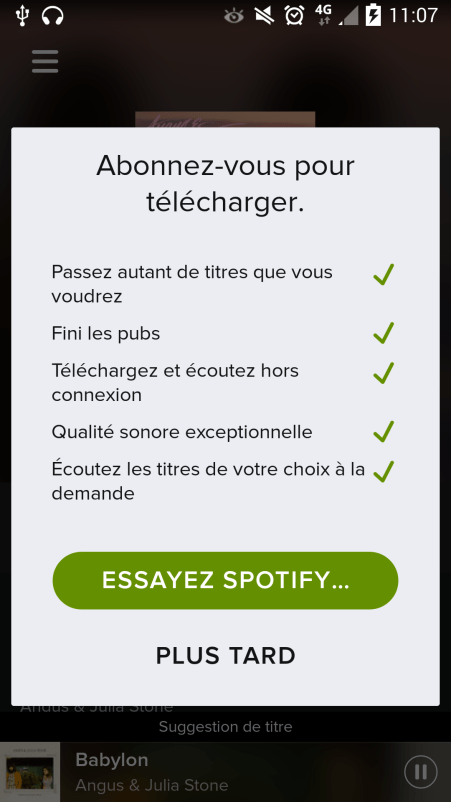 how to cancel spotify premium on mobile