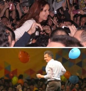 Todos bailan para Macri
