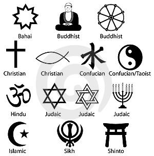 Religiuos symbols
