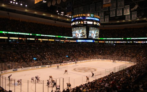 Bruins - Senators at TD Garden, Preseason
