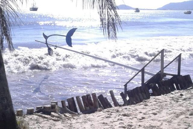 Construções que estão próximas a praia serão notificadas pelo poder público