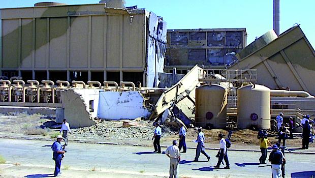 Reatores nucleares de Osirak ficaram completamente destruídos após os ataques dos caças israelenses