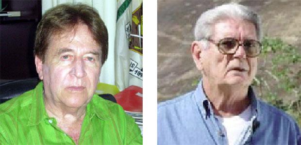 O capitão Sebastião Curió e o major Lício Maciel, vistos como figuras centrais, eram militares subalternos no combate à Guerrilha do Araguaia. Foram atuantes, suas equipes mataram guerrilheiros, mas não eram chefões | Fotos: Divulgação