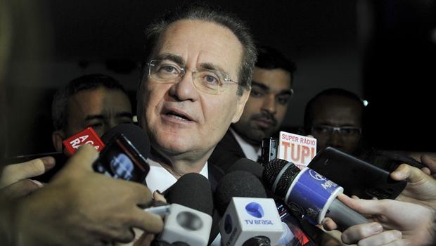 """Renan Calheiros tem pressa em """"ajudar"""" os Estados. Em especial, o de Alagoas  Foto: Jane de Araújo / Jornal Opção"""