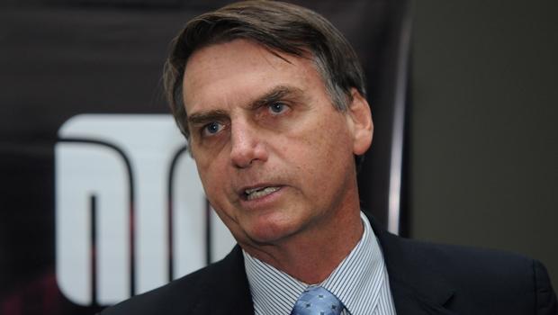 Deputado Jair Bolsonaro (PP-RJ) durante entrevista ao Jornal Opção | Foto: Renan Accioly / Jornal Opção