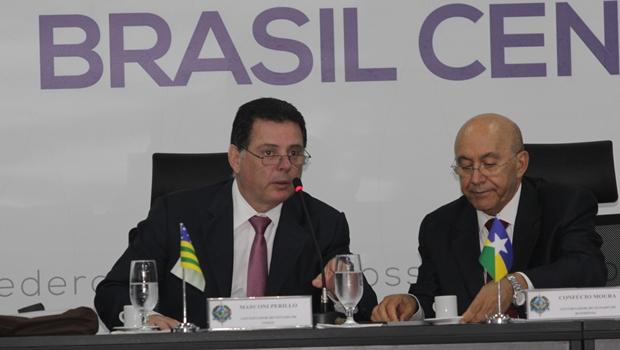 Durante a reunião, os governadores definiram as próximas seis reuniões | Foto: Marco Monteiro