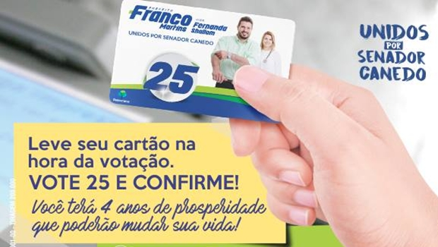 Justiça eleitoral proíbe distribuição de santinho em forma de cartão bancário