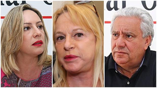 PSD de Vilmar Rocha, PR de Magda Mofatto e PT de Adriana Accorsi devem apoiar Vanderlan no 2º turno