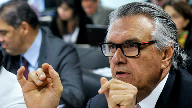 Ronaldo Caiado: ele quer o PMDB em sua candidatura em 2018 | Foto: Geraldo Magela