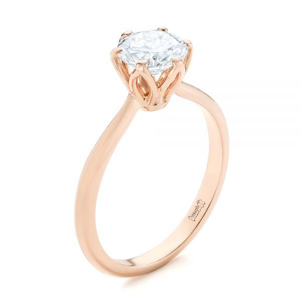 Elegant Solitaire Engagement Ring #103295 - Seattle Bellevue