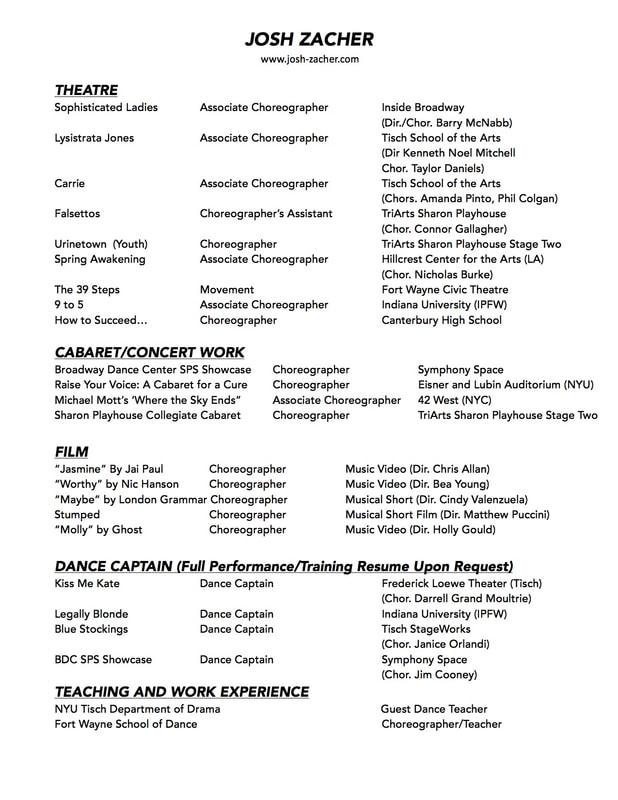 Resume - what should a resume look like