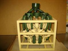 """Permutation Prime"" model gated & vented & ready for investment molding"