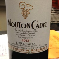 The Burger King of Wine: Mouton Cadet Bordeaux 2012
