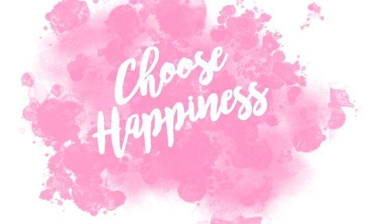 Best Cute Girl Wallpapers Motivational Quote Pink Girly Choose Happiness