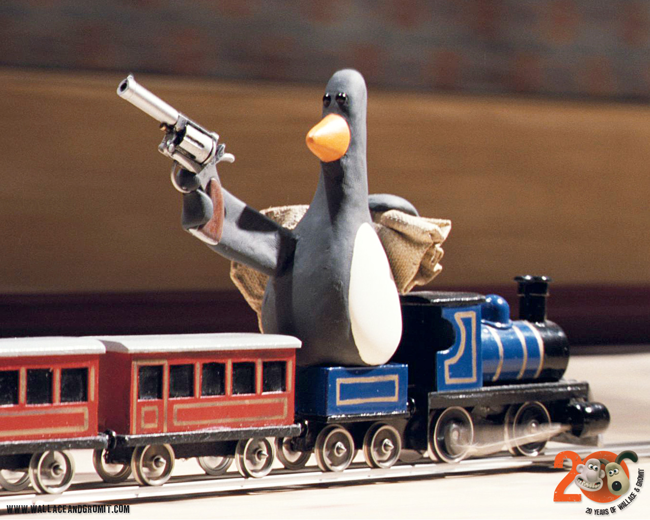 Falling Feathers Wallpaper Welcome To Falling Rock National Park 187 Wallace And Gromit