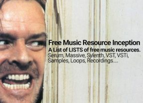 Free MADNESS! A list of LISTS of free music stuff via Cymatics