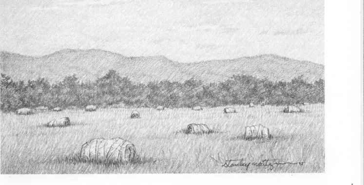 Foreground Middle Ground Background - Drawing Nature - background sketches