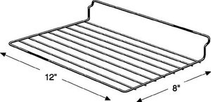 Wire Slatwall Shelf 8quotx12quot Box Of 6 Shelves
