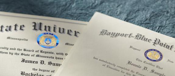 Graduation Diplomas - Jostens - High School Graduation Certificates - Graduation Certificate Paper