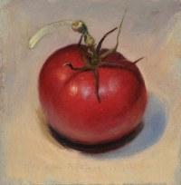 Tomato in lamp light - Jos van Riswick Still life ...