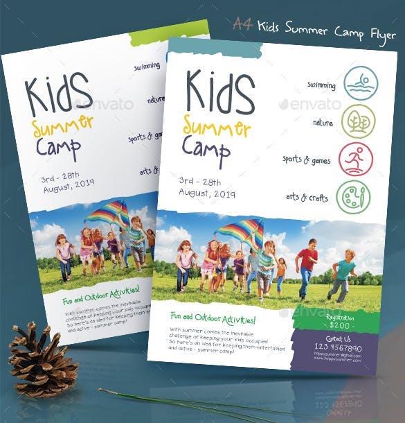 10 beautiful summer camp flyer templates The JotForm Blog