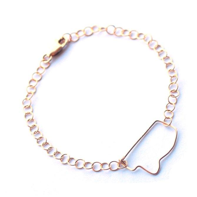 MS-state-outline-bracelet-gold