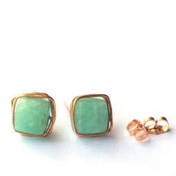 amazonite-gemstone-studs-earrings