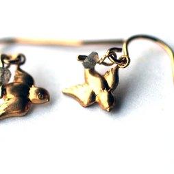 bird-earrings-gold-charm-earrings-labradorite-handmade
